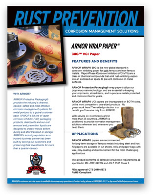 Rust prevention brochure