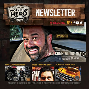 Workshop Hero newsletter