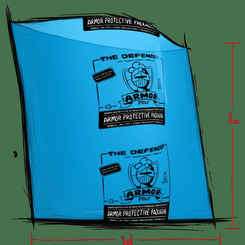 ARMOR DEFENDER VCI Film bag illustration