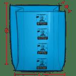 ARMOR DEFENDER VCI Film gusseted bag illustration