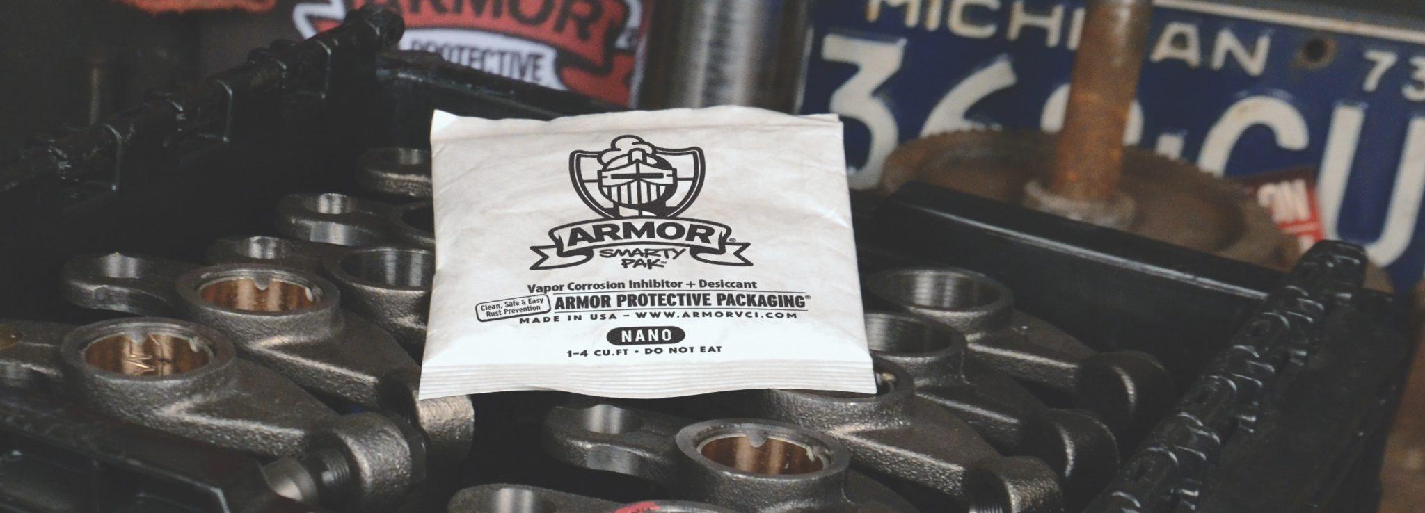 ARMOR SMARTY-PAK on Metal
