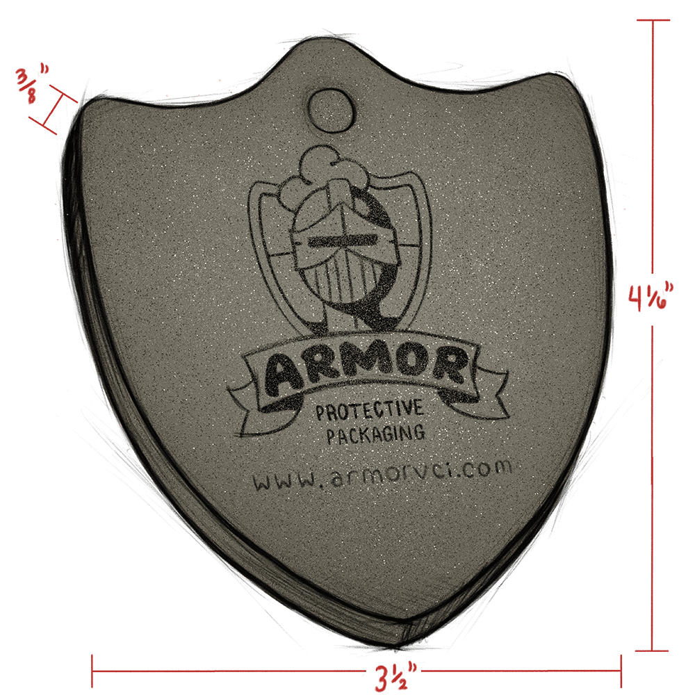 ARMOR SHIELD CF33 emitter illustration