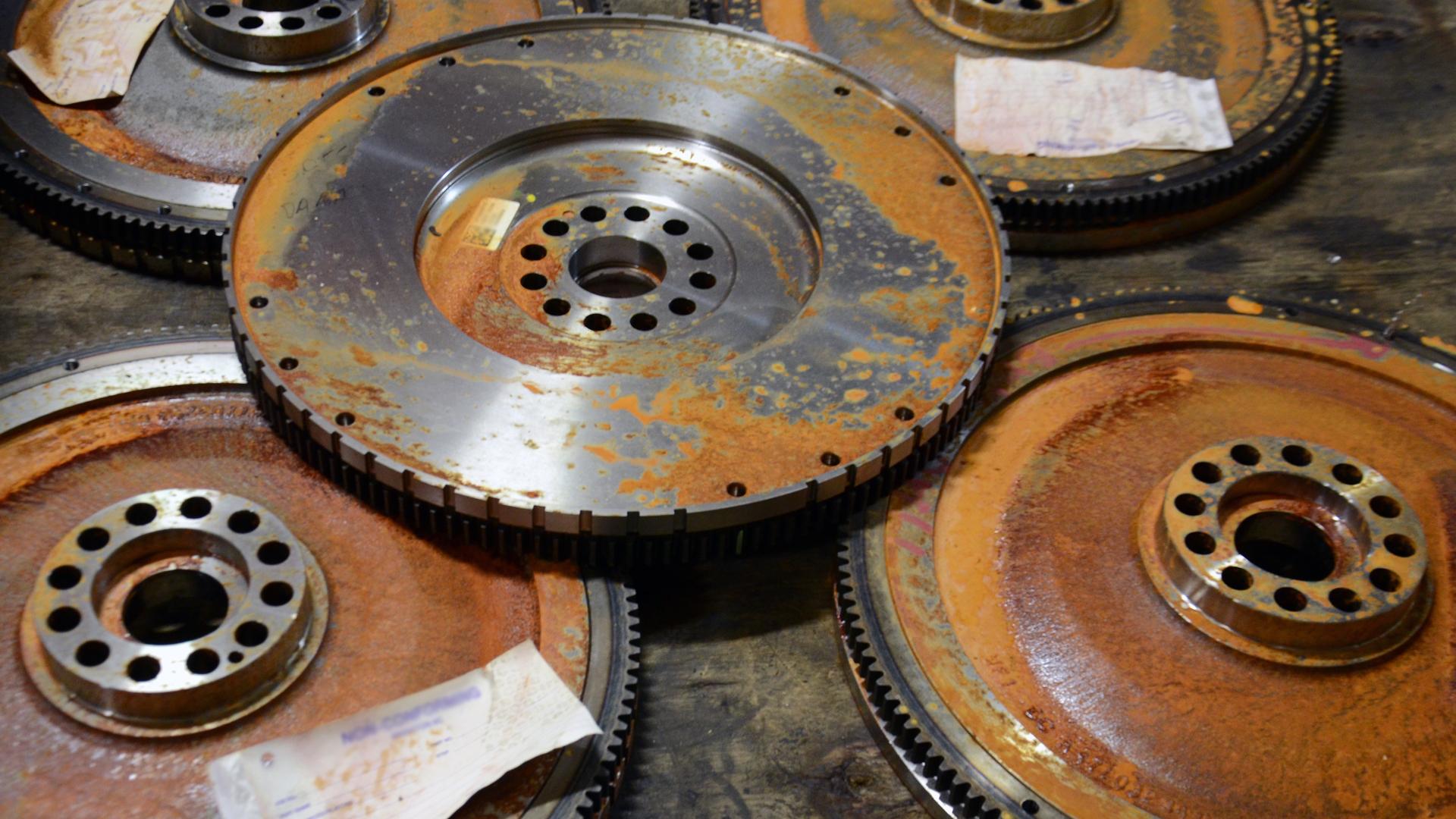 ARMOR Gear Rust Removal