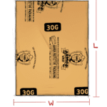 ARMOR Wrap paper individual sheet (30G) - illustration