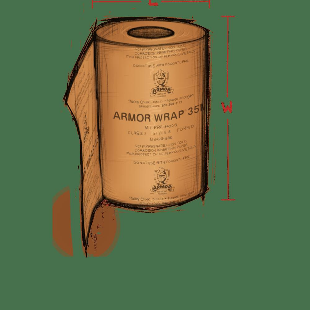 ARMOR WRAP Military illustration