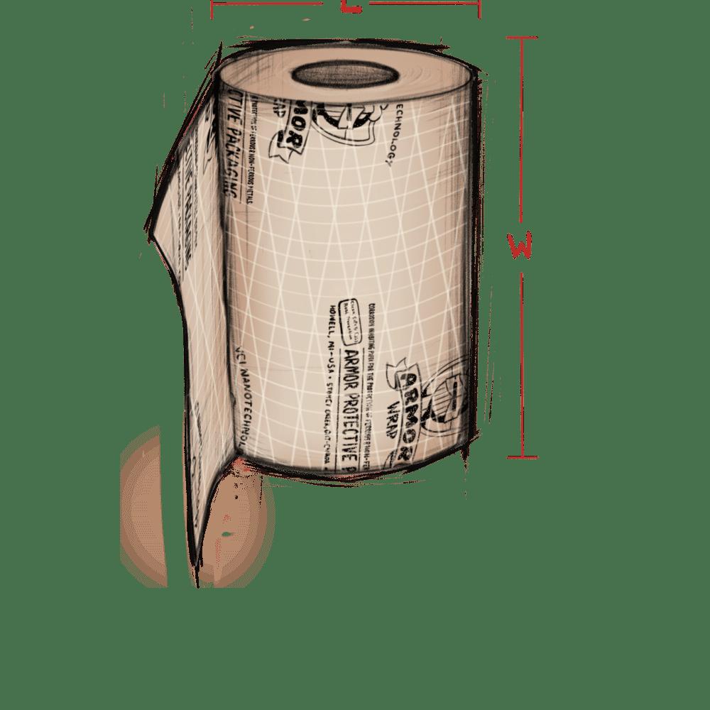 ARMOR WRAP SCRIM illustration