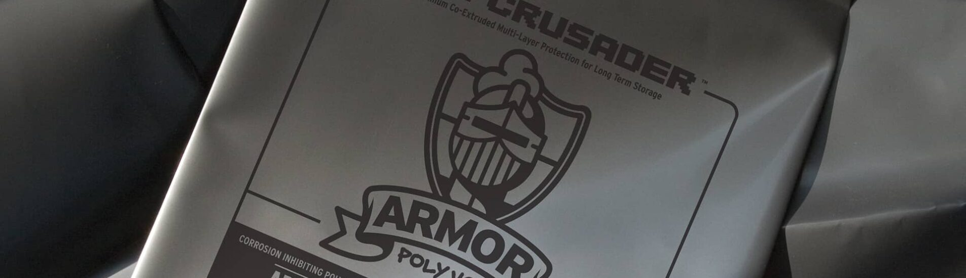 Close up of ARMOR CRUSADER film
