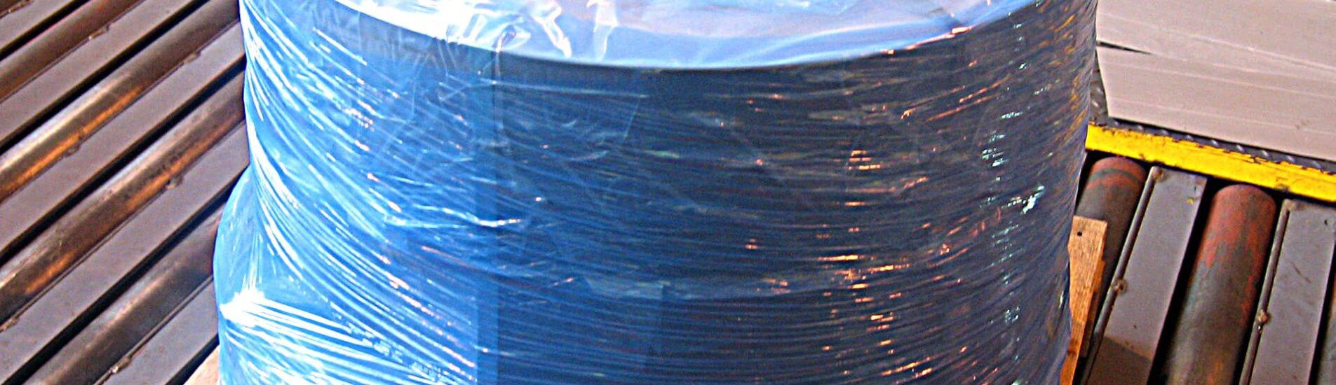 A roll of ARMOR POLY Stretch Film