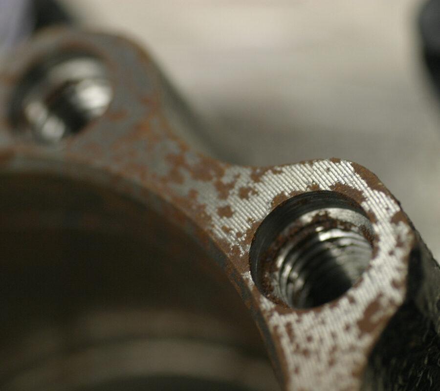 Пример коричневой ржавчины