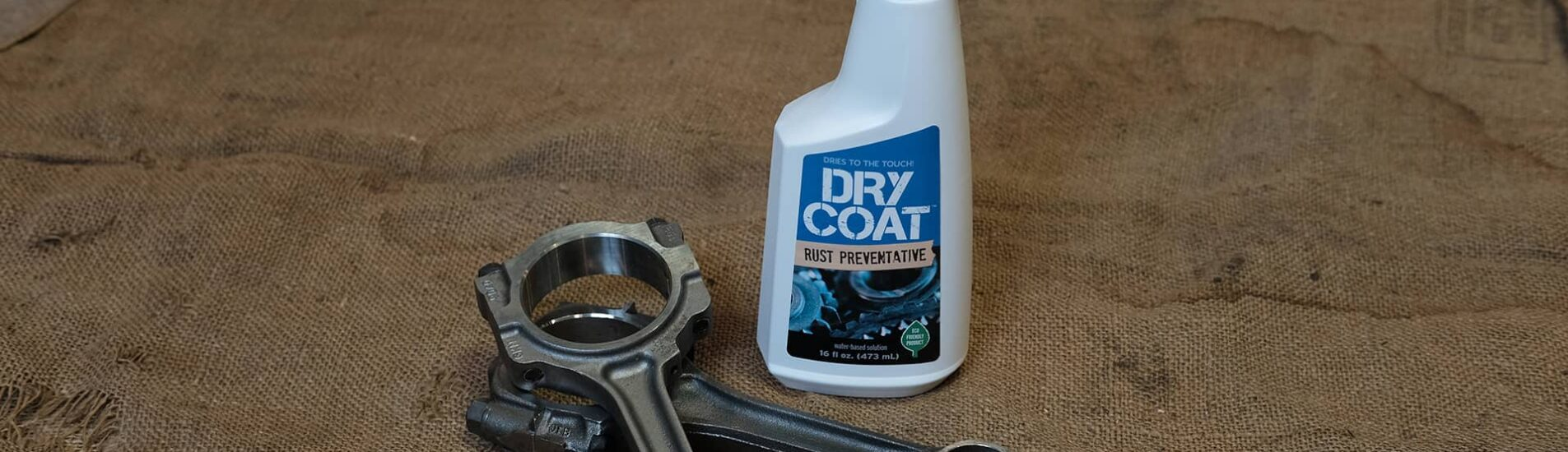 Dry Coat Rust Preventative bottle