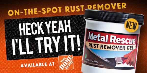 Workshop Hero Metal Rescue GEL at Home Depot