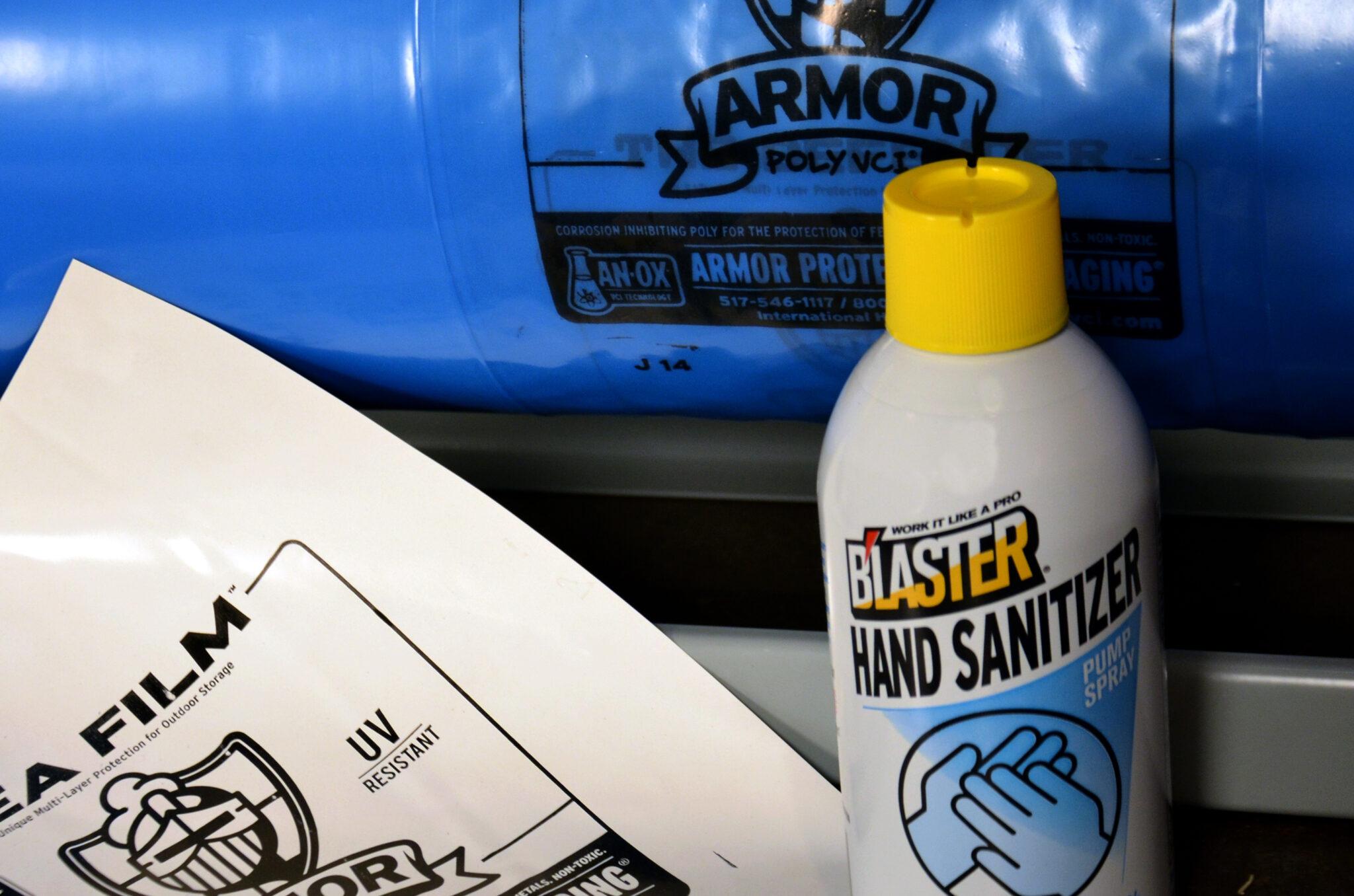 ARMOR Hand Sanitizer Bottle