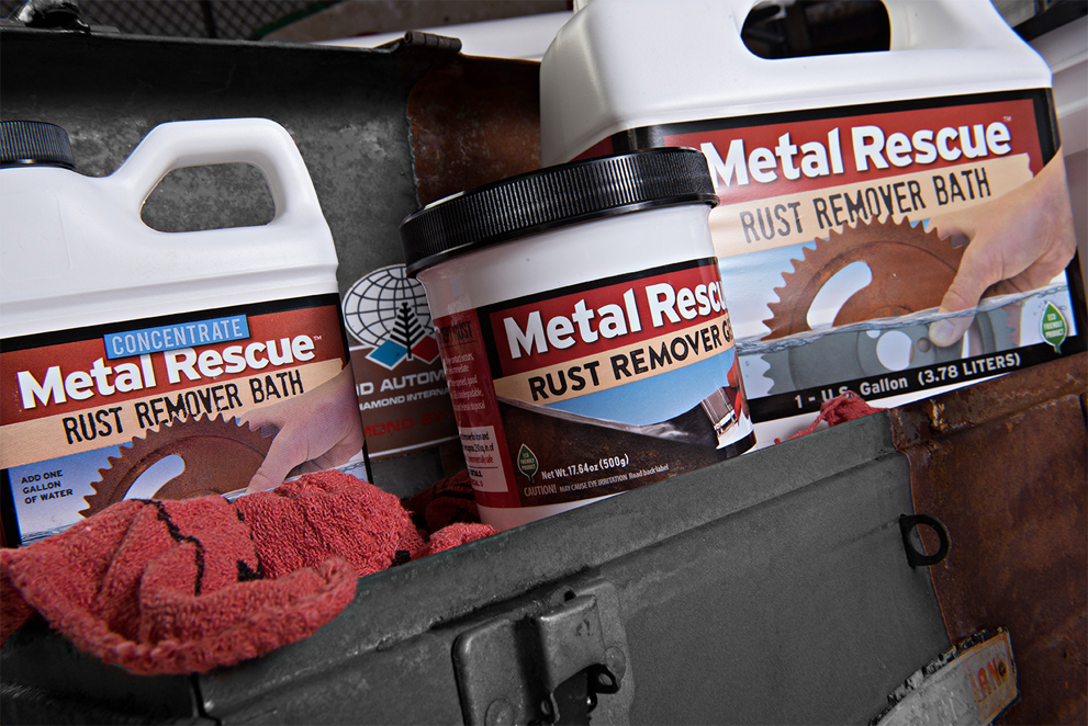 Workshop Hero Metal Rescue GEL Product Line