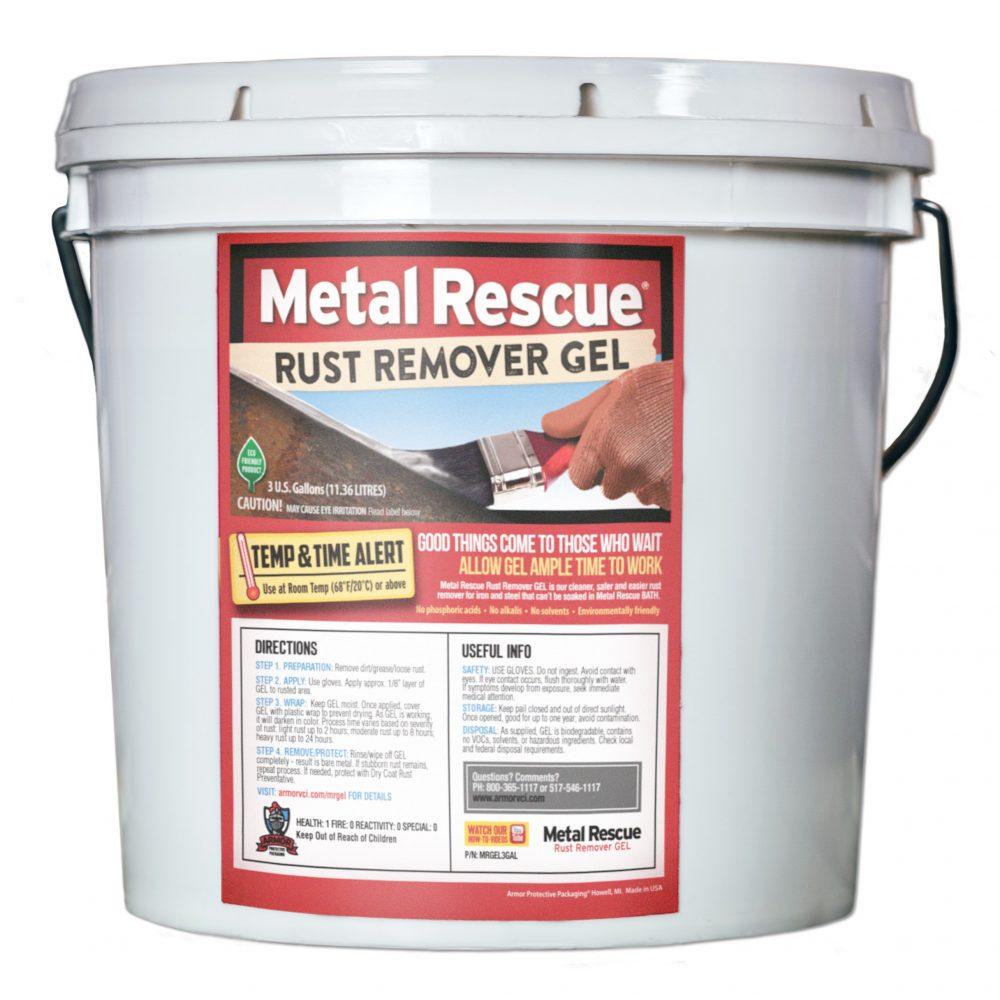 metal rescue gel bucket