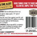 Metal Rescue GEL label