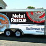 Metal rescue trailer