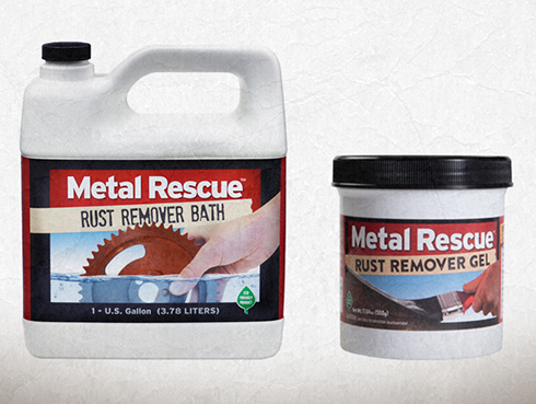 Metal Rescue | Rust Remover | Rust Cleaner | Paint Over Rust