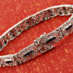 Protected silver bracelet