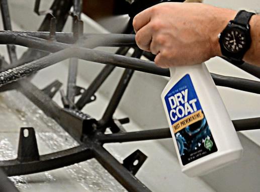 Stop Rust With Dry Coat Rust Preventative Spray Volatile Corrosion