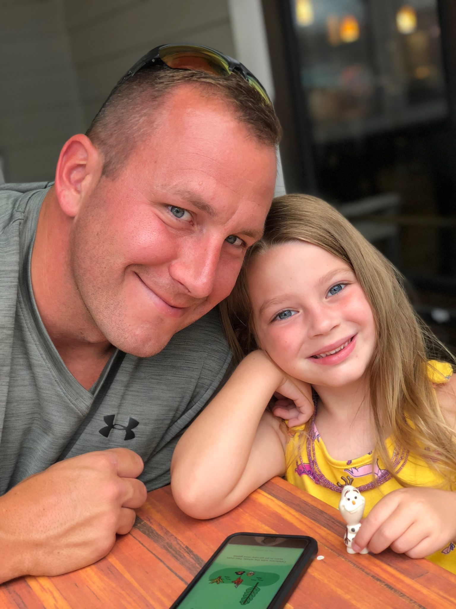 Jeff Short with Daughter