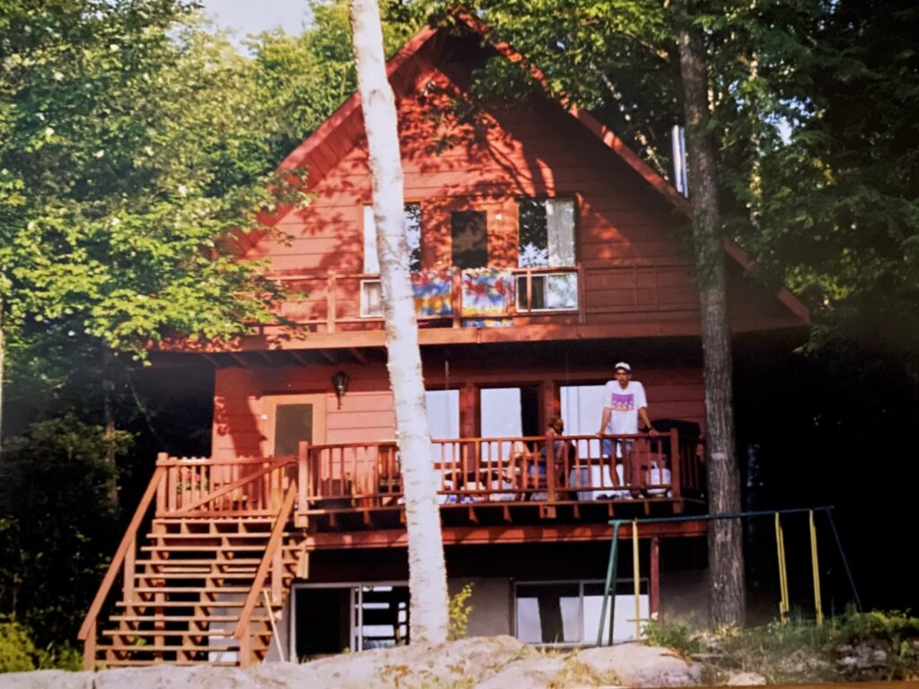 Paul Kuruliak at Lake House