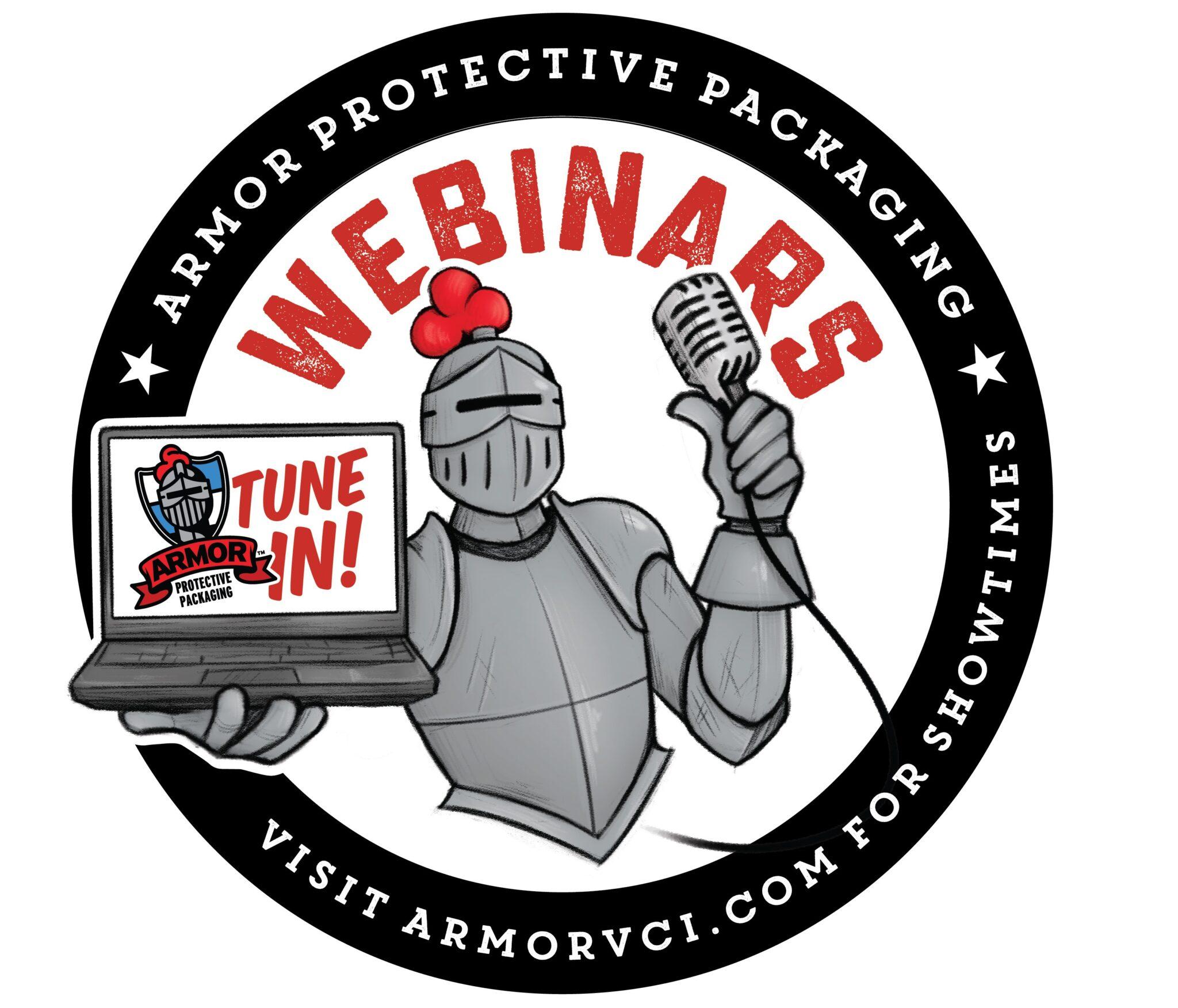 Armor Protective Packaging Webinar Logo