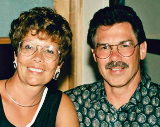 John Holden and wife Kelly