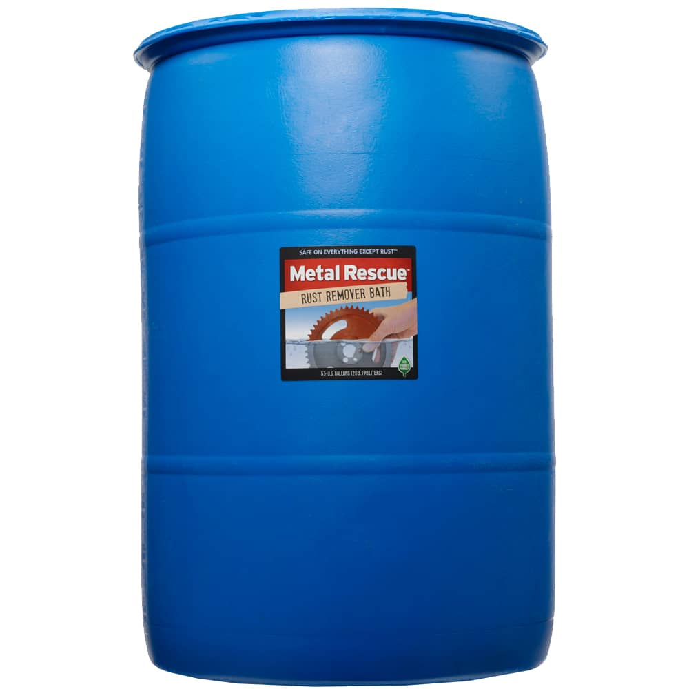 Metal Rescue Bath - 55 gallon